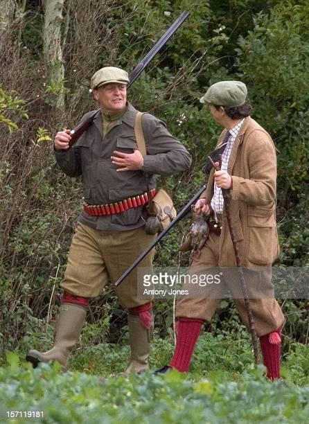 The Duke Of Westminster On A Shoot At Sandringham