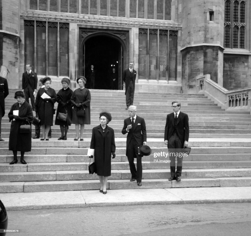 Royalty - Princess Marina, Duchess of Kent Death - Windsor : News Photo