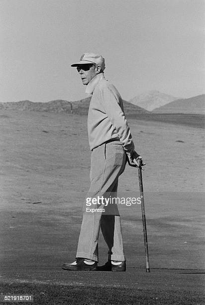 The Duke of Windsor playing golf in Marbella Spain 1969