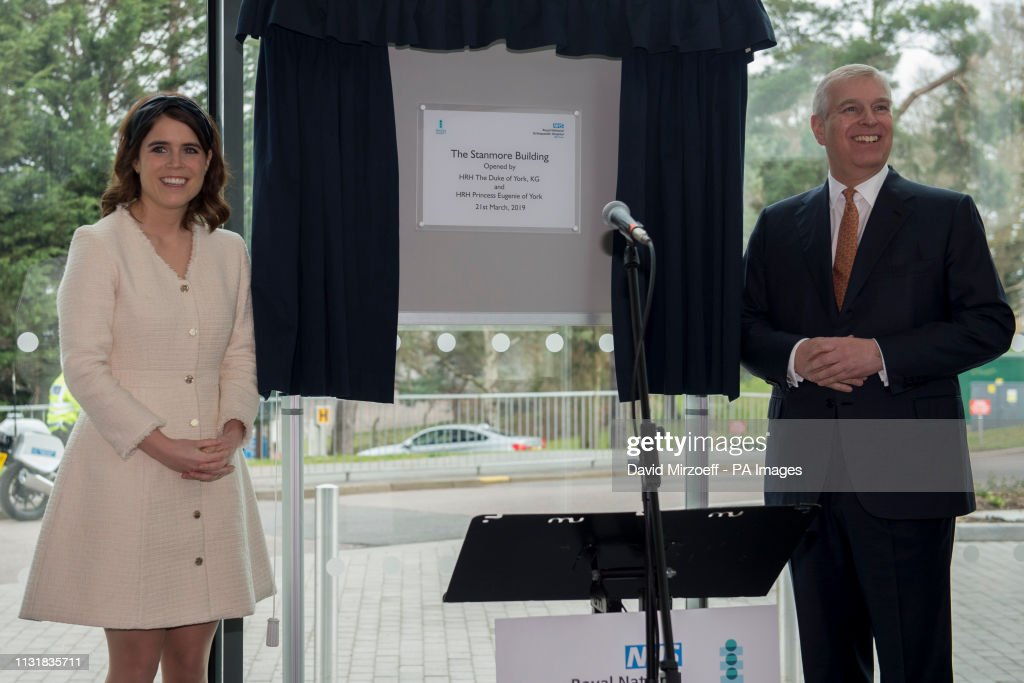 Duke of York visits the Royal National Orthopaedic Hospital : News Photo