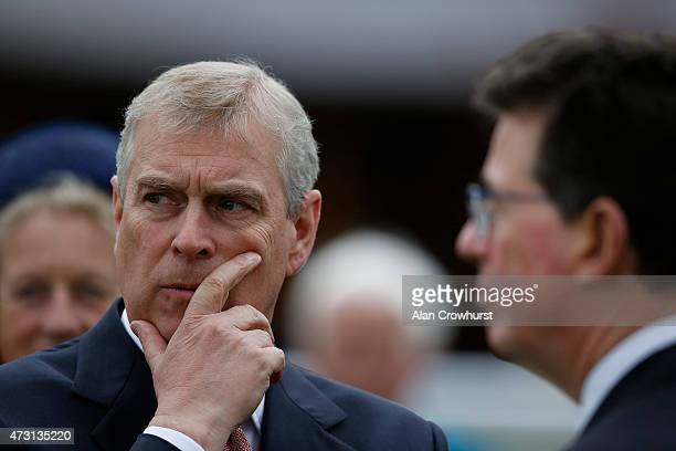 The Duke of York at York racecourse on May 13, 2015 in York, England.