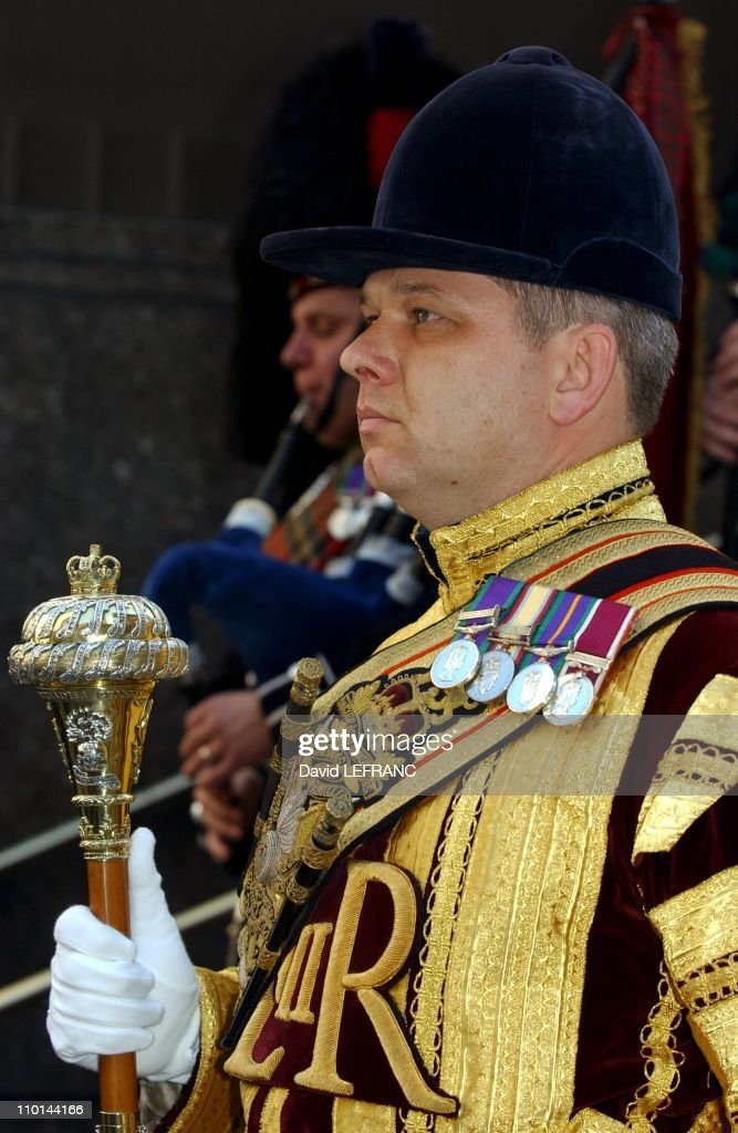 Prince Andrew at Rockefeller Center in New York, United States on October 15, 2001. : News Photo
