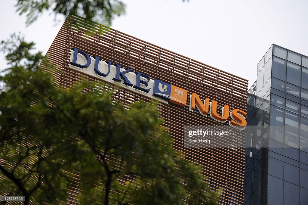 The Duke-NUS Graduate Medical School stands in Singapore, on Monday