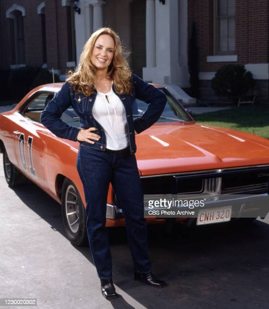 The Dukes of Hazzard: Hazzard in Hollywood, a made for TV movie, originally broadcast May 19, 2000. Pictured is cast member Catherine Bach . Image...