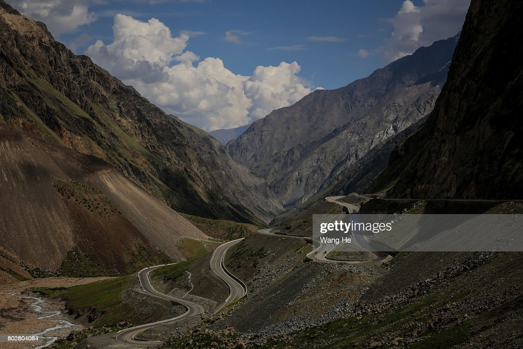 The Most Beautiful Road In Xinjiang Photos and Images | Getty Images
