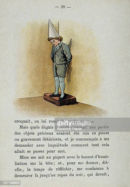 The Dunce Cap In A Book Published About In 1900