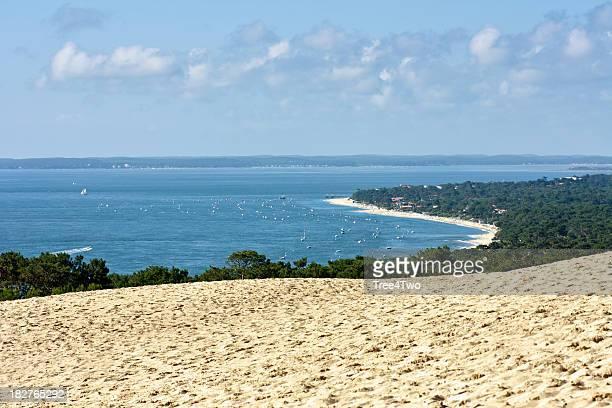 bassin d''arcachon de pyla-dune - cap ferret photos et images de collection