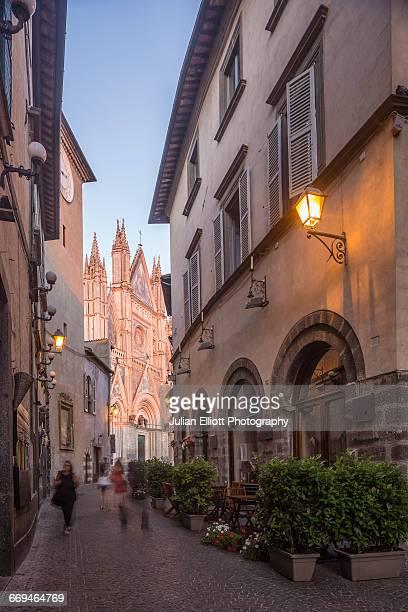 The Duomo di Orvieto in Umbria, Italy.