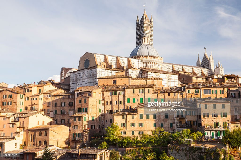 The Duomo di Siena or Siena Cathedral : Stock Photo