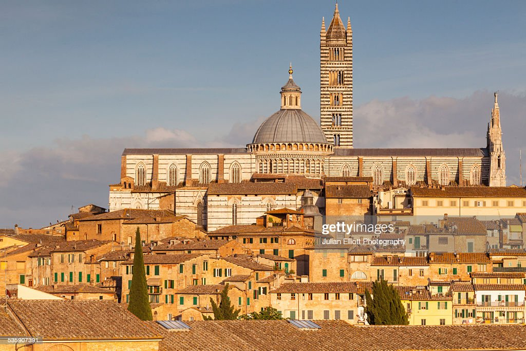 The Duomo di Siena or Siena Cathedral : Stock-Foto