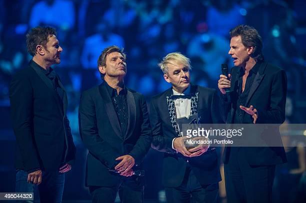 The Duran Duran at the MTV Europe Music Awards Milan Italy 25th October 2015