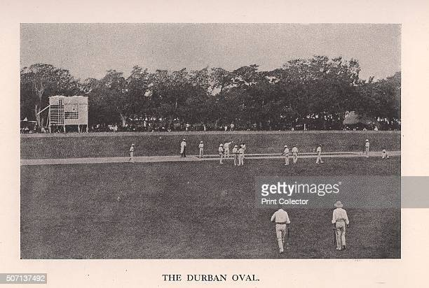 The Durban Oval South Africa 1912 From Imperial Cricket edited by P F Warner and published by The London and Counties Press Association Ltd Artist...