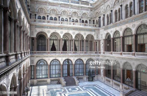 The Durbar Court inside the Foreign and Commonwealth Office on July 132013 in LondonEngland