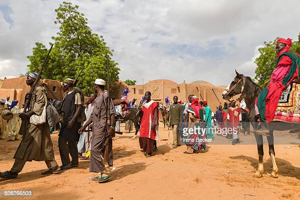 The Durbar during Sallah Celebration displays the rich northern Nigerian culture and tradition. Argungu, Kebbi State, Nigeria.