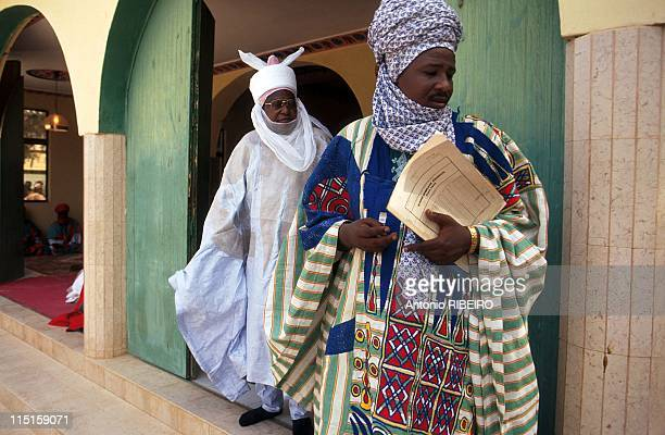 The Durbar in Kano Royal Ostentation for an Idolized Emir in Nigeria in January 2000 The Bawan Sarki a Slave who always precedes the Emir