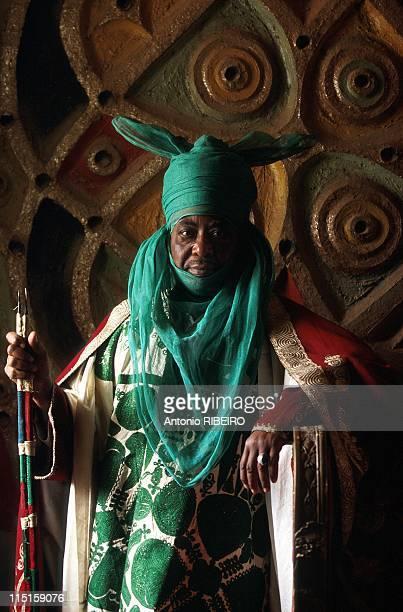 The Durbar in Kano Royal Ostentation for an Idolized Emir in Nigeria in January 2000 Emir Ado Bayero in his Palace