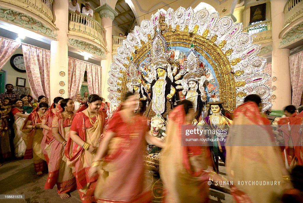 CONTENT] The Durga Puja spans over a period of ten days in