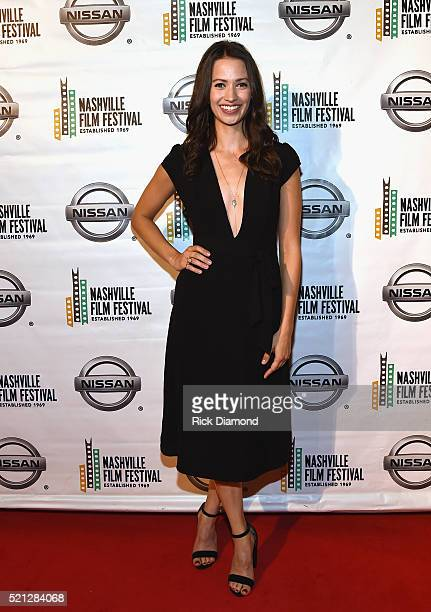 The Dust Storm Actor Kristen Gutoskie attends the 2016 Nashville Film Festival Day 1 at Regal Green Hills on April 14 2016 in Nashville Tennessee