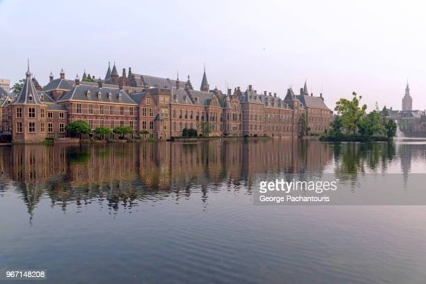 the dutch parliament (binnenhof) - the hague stock photos and pictures