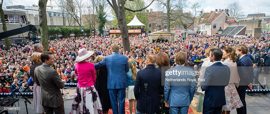 The Dutch Royal Family Attend King's Day : News Photo