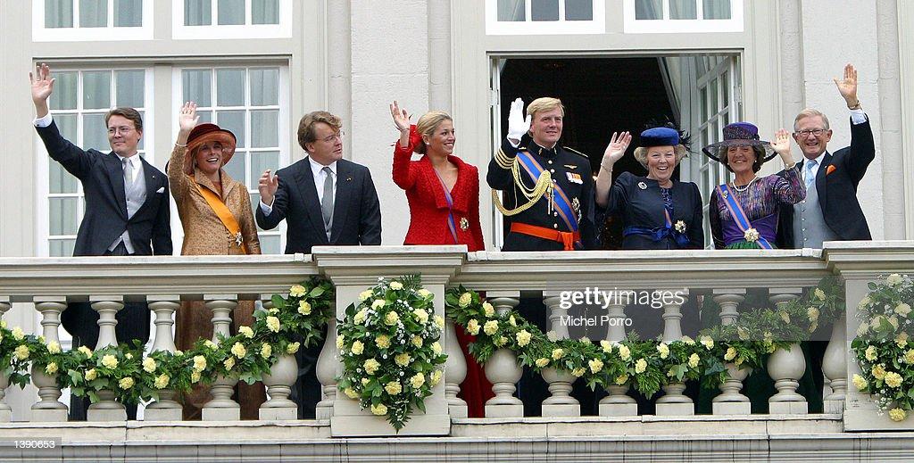 Dutch Royals On Prince Day : News Photo
