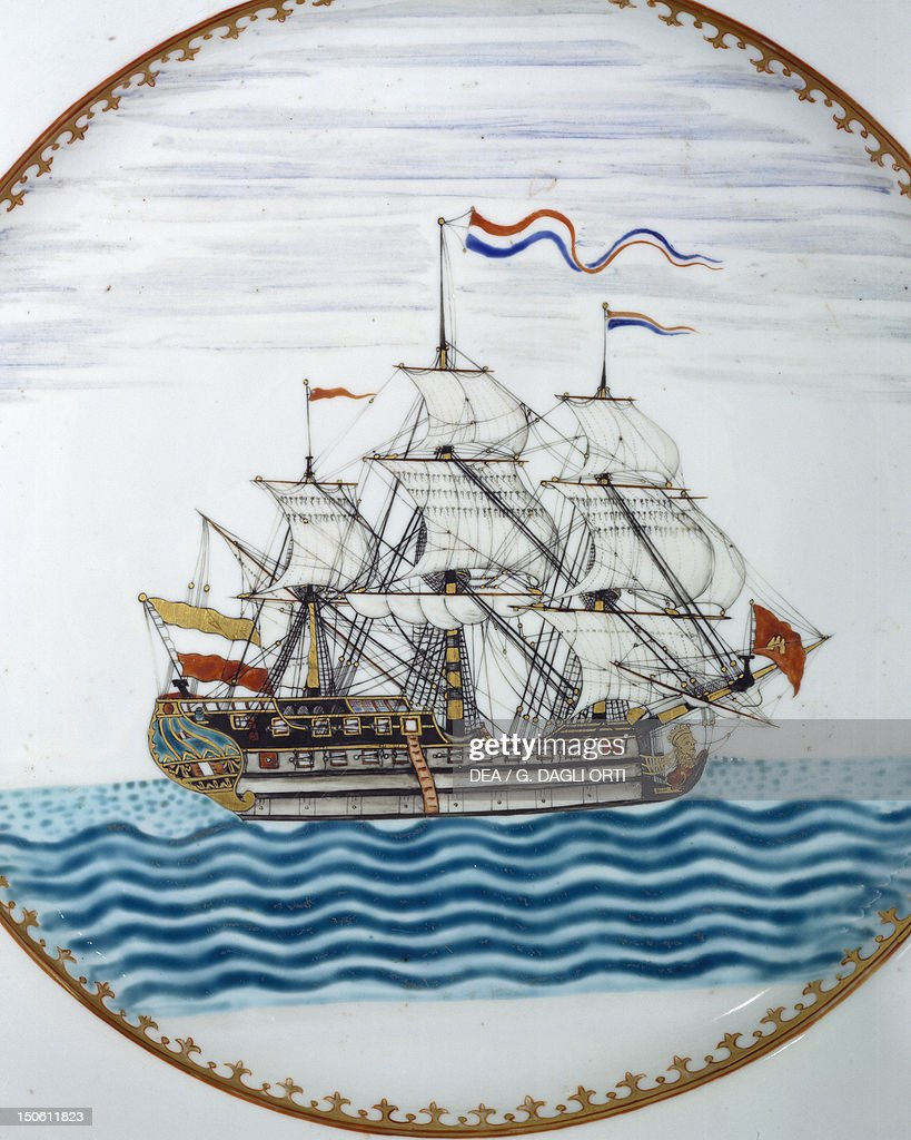 The Dutch ship Vryburg : News Photo