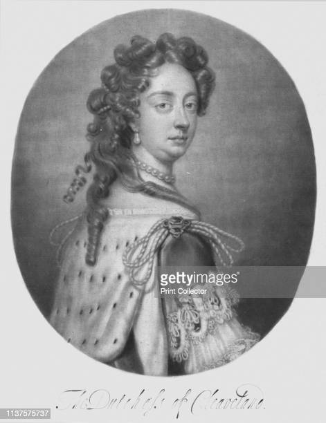 The Dutchess of Cleaveland', 1680s. Portrait of King Charles II's mistress Barbara Palmer, , Duchess of Cleveland, Countess of Castlemaine . She...