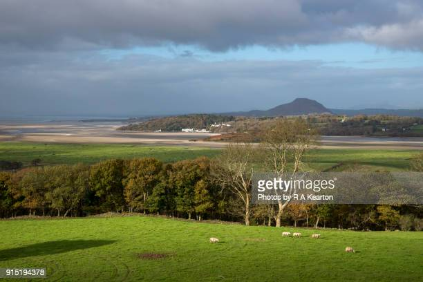 The Dwyryd estuary between Harlech and Porthmadog, North Wales