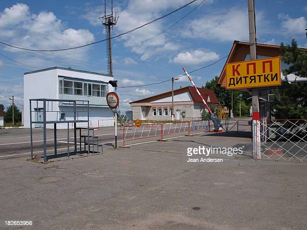The Dytyatky Checkpoint is the southern entrance to the Chernobyl Exclusion Zone.