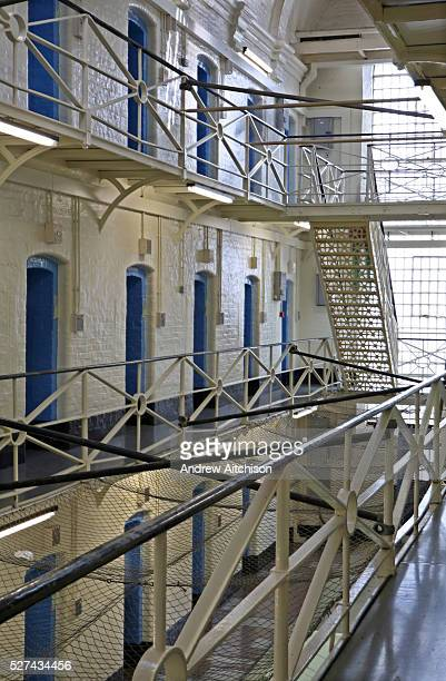 The E wing inside the Onslow building at Wandsworth prison HMP Wandsworth in South West London was built in 1851 and is one of the largest prisons in...