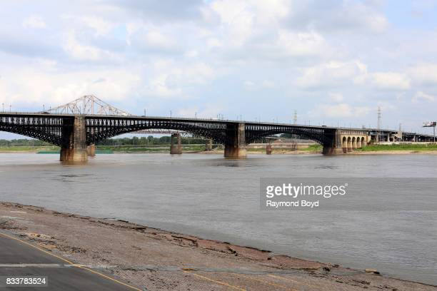 The Eads Bridge is a steel combined road and railway bridge over the Mississippi River connecting the cities of St Louis Missouri and East St Louis...