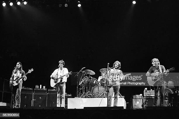 The Eagles performing at The Boston Garden Oct 10 1979 Timothy B Schmit Glenn Frey Don Henley Don Felder Joe Walsh
