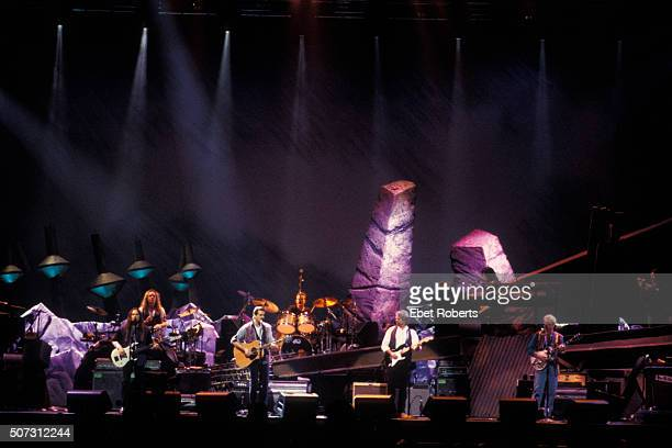 The Eagles performing at the Target Center in Minneapolis February 21 1995
