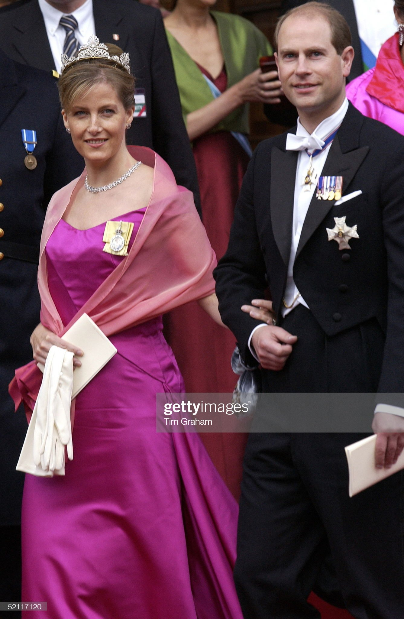 Prince Edward And Sophie : News Photo