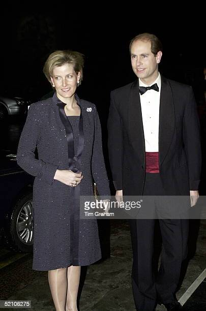 The Earl And Countess Of Wessex [ Prince Edward And Sophie ] Arriving For A Charity At The Dorchester Hotel In London On Behalf Of The Duke Of...