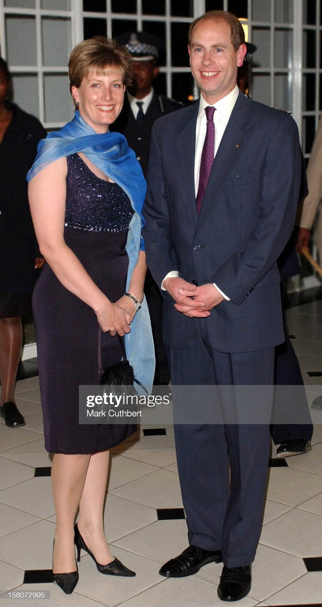 The Earl & Countess Of Wessex Visit Swaziland. : News Photo