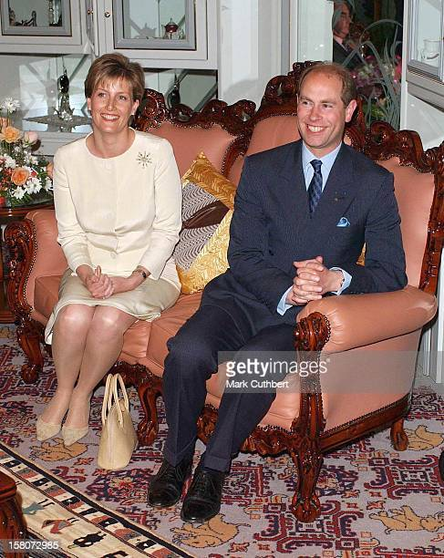 The Earl And Countess Of Wessex'S EightDay Trip To AfricaMeeting Ndlovukazi The QMum Of Swaziland At The Lozitha Royal Palace