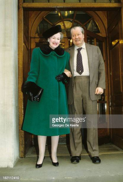 The Earl and Countess Spencer on January 5 1991