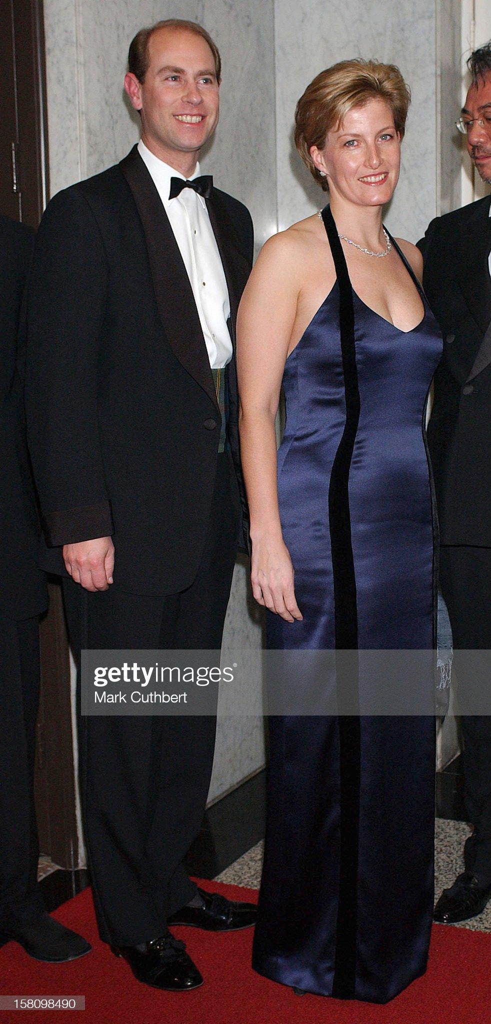 The Earl & Countess Of Wessex Visit Hong Kong : News Photo
