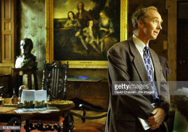 The Earl of Dalkeith before speaking to the media in the entrance hall of Drumlanrig Castle in Dumfries and Galloway Insurers offered a sixfigure...