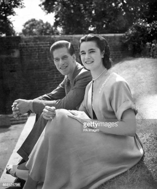 The Earl of Harewood and his fiancee Marion Stein at St James's Palace London have today announced their engagement Lord Harewood is the elder son of...