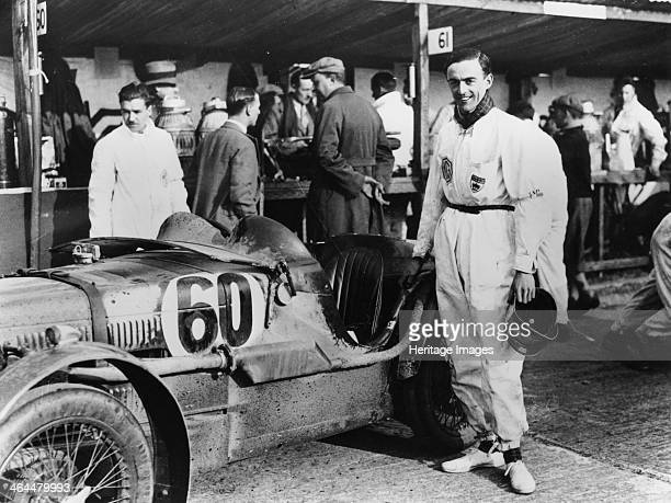 The Earl of March with a C type MG 1931 Frederick Charles GordonLennox Duke of Richmond and Gordon Earl of March competed in motor racing in the...