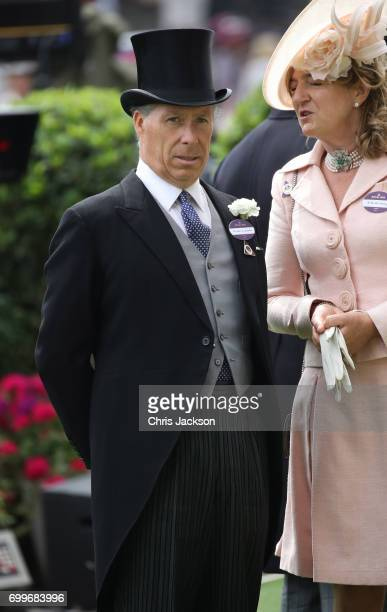 The Earl of Snowdon attends Royal Ascot 2017 at Ascot Racecourse on June 22 2017 in Ascot England
