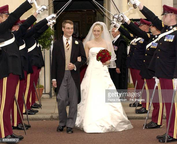 The Earl of Ulster Alexander Windsor son of the Duke and Duchess of Gloucester marries hospital doctor Claire Booth now the Countess of Ulster at the...