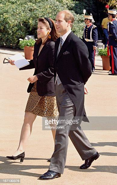 The Earl Of Wessex Attends The Wedding Of Infanta Cristina Of Spain And Inaki Urdangarin At Barcelona Cathedral