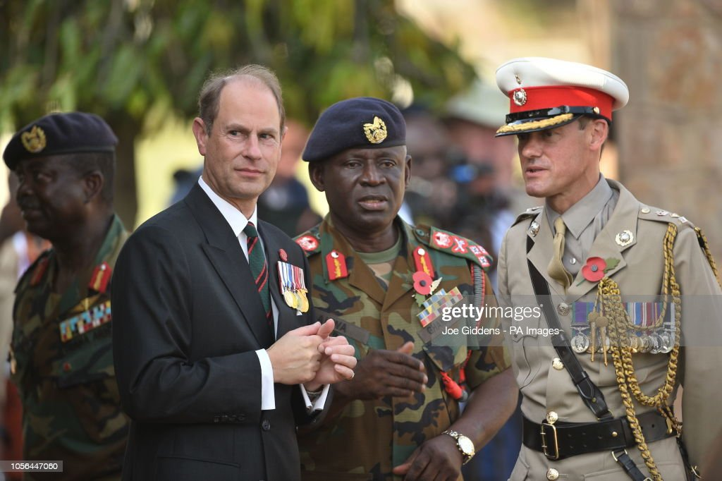 Royal visit to west Africa - Day Three : News Photo