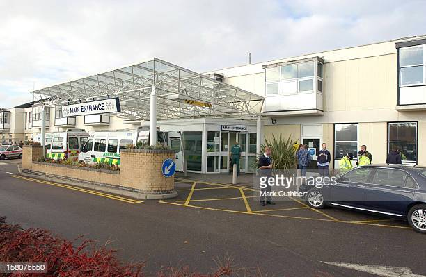 The Earl Of Wessex Visits Wife Sophie Their Newborn Baby Daughter At The Frimley Park Hospital In Surrey