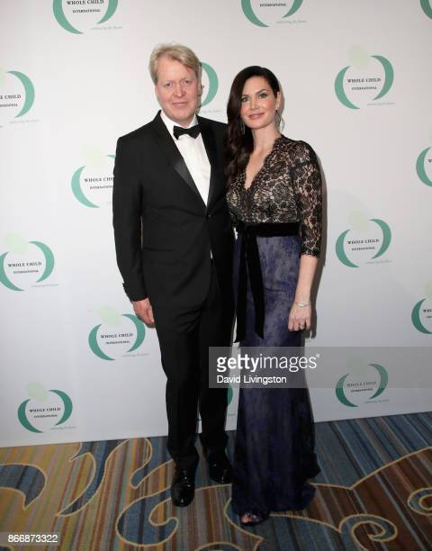 The Earl Spencer and Countess Karen Spencer at the Whole Child International's Inaugural Gala in Los Angeles hosted by The Earl and Countess Spencer...