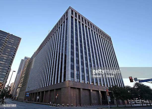The Earle Cabell Federal Building and Courthouse in downtown on September 30 2013 in Dallas Texas Mark Cuban is expected to testify in the...