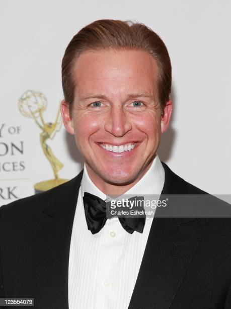 'The Early Show' coanchor Chris Wragge attends the 54th Annual New York Emmy Awards gala at Marriot Marquis on April 3 2011 in New York City